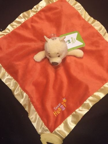 Kids Preferred Winnie the Pooh Lovey Blankie Teether