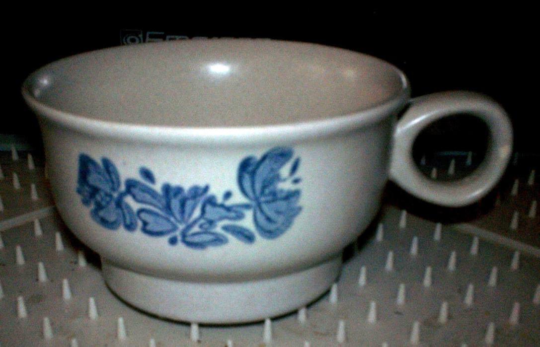 PFALTZGRAFF USA YORKTOWNE COFFEE SOUP CUP MUG  ~ CASTLE MARK ~