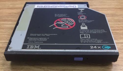 IBM LaptopThinkPad 3.5in 24x CD-Rom Drive 05K9267 - LG CRN-8241B - Working Pull