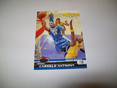 2007-08 Stadium Club Basketball Carmelo Anthony PP2 Promotional Card