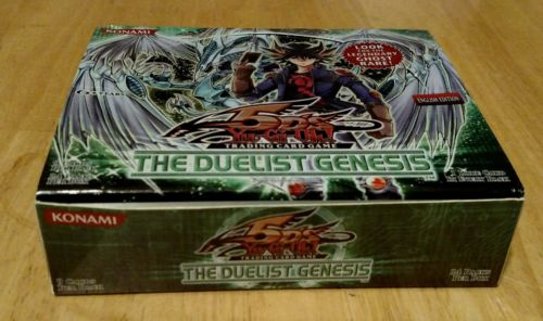 lot of 19 Yugioh: The Duelist Genesis booster pack