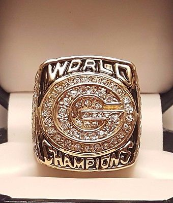 1996 Green Bay Packers Super Bowl XXXI Championship Ring