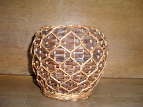 Wicker Basket , Unique Style , 6