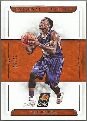 2016-17 Panini National Treasures Base ERIC BLEDSOE #86 #22/99 Phoenix Suns