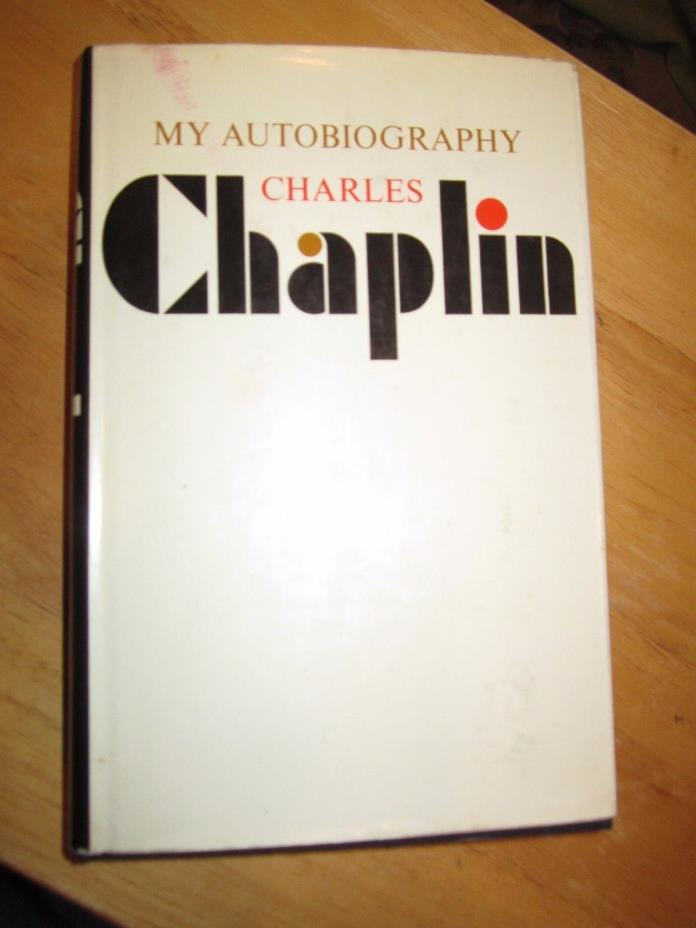Rare Book My Autobiography Charles Chaplin 1st Edition Stated 1st Printing HC/DJ