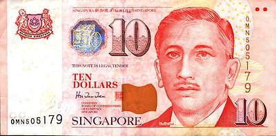 Singapore 10 Ten Dollars Bank Note - Sports