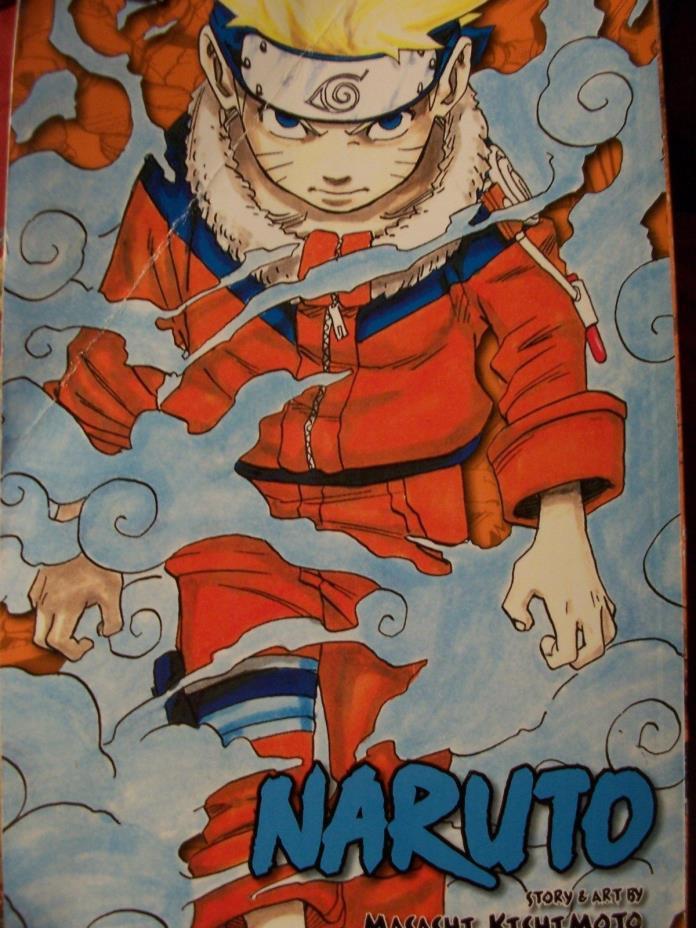 Naruto Shonen Jump Manga Omnibus Edition Volumes 3-in-1 Edition Comic Book