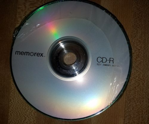 Memorex cd set of 10