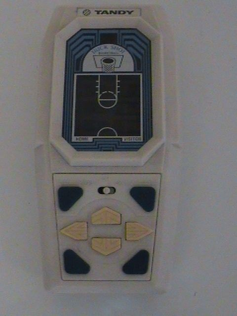 Vintage Tandy Trick Shot Basketball Handheld Pocket Game Player Radio Shack Toy