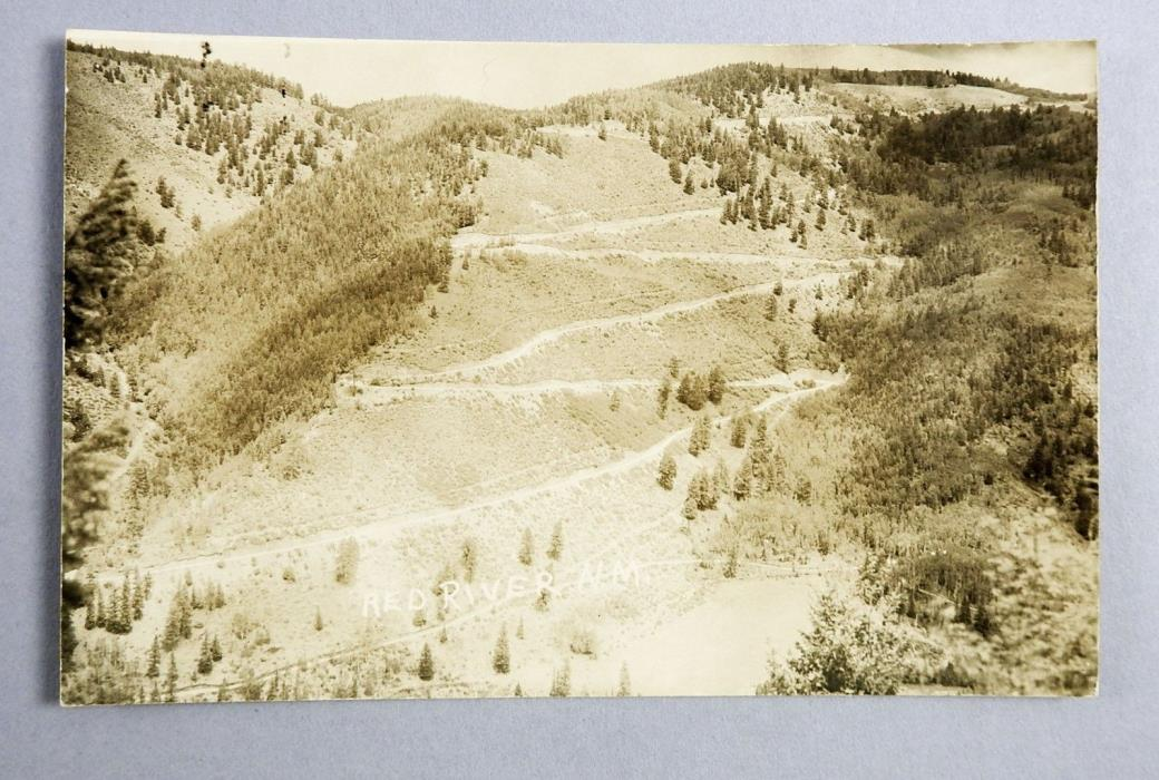 RPPC  Looking Up The Pass  Red River New Mexico