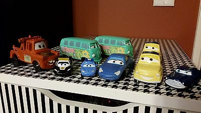 Disney Pixar Cars McDonald's and others lot of 9