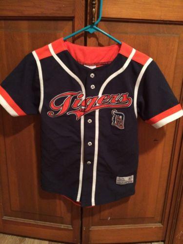 Detroit Tigers Verlander KidsJersey Large