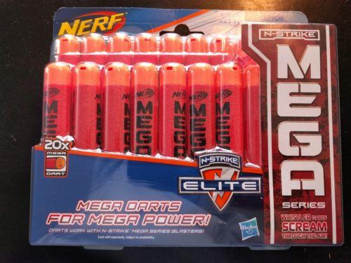 Nerf N-Strike Elite Mega Whistler Darts / Bullets 20-Pack Thunderbow Centurion