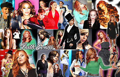 FAITH EVANS Collage Poster