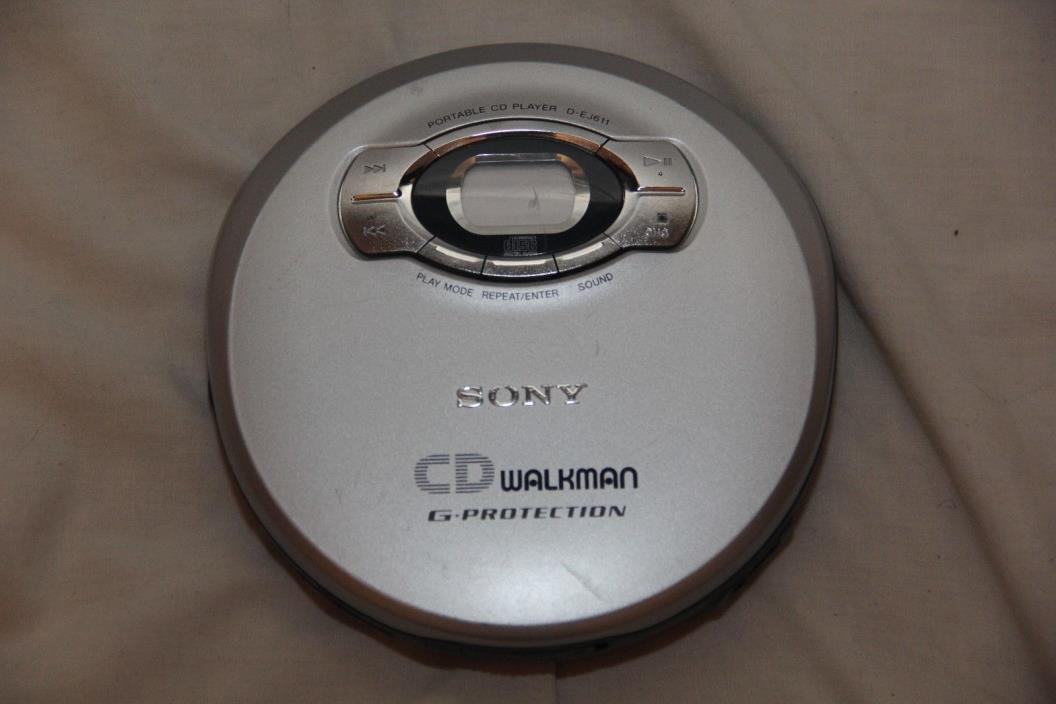 Sony CD Walkman D-EJ611 Portable CD Player
