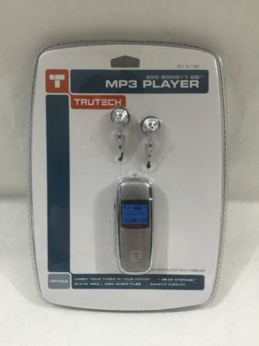 Trutech SMP-1GBL MP3 Digital Audio Player