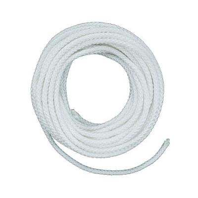 50' Nylon Diamond Braid Rope, White The Lehigh Group Rope - Packaged ND1050LW