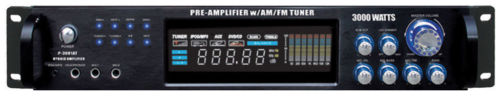 P3001AT Pyle 3000W Hybrid Pre Amplifier w/ AM/FM Tuner