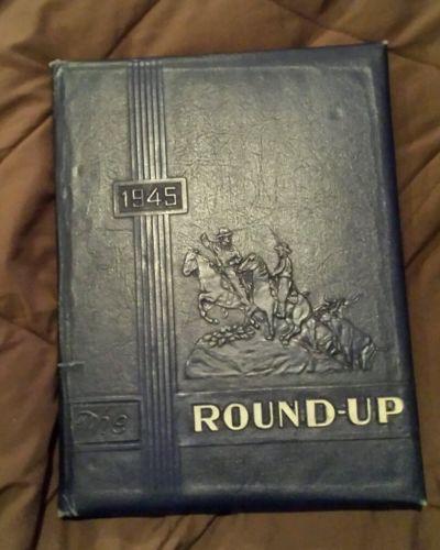 1945 CHILDRESS HIGH SCHOOL YEARBOOK TEXAS