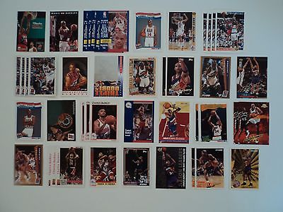 Lot Of 87 Charles Barkley 76ers /Rockets NBA Basketball Cards