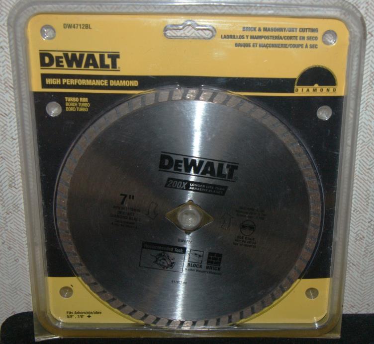 Dewalt DW4712bl 7