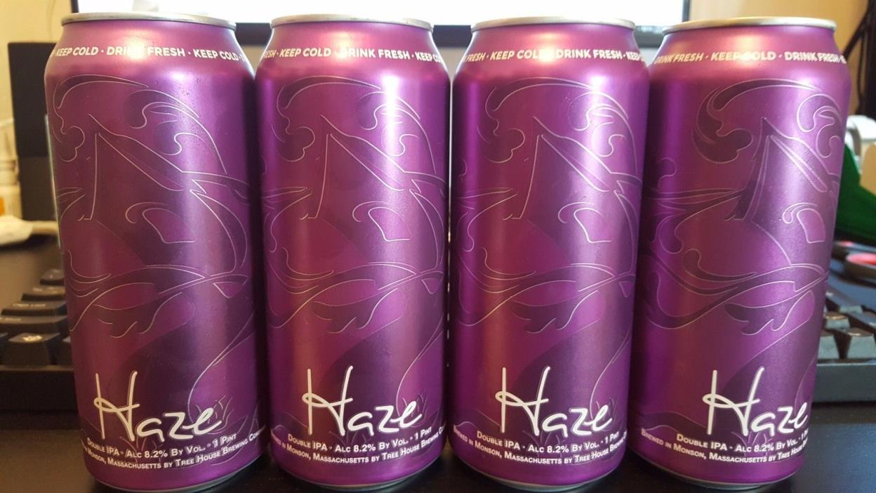 Tree House Brewing Company HAZE  (Double IPA - 8.2%) - Double IPA Super Fresh!!!