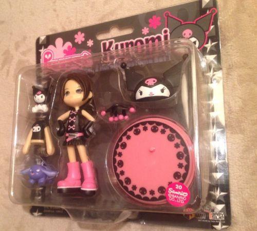 Pinky Street Pinky:st PC007 Sanrio Hello Kitty KUROMI Rei Vinyl Toy Figure Set