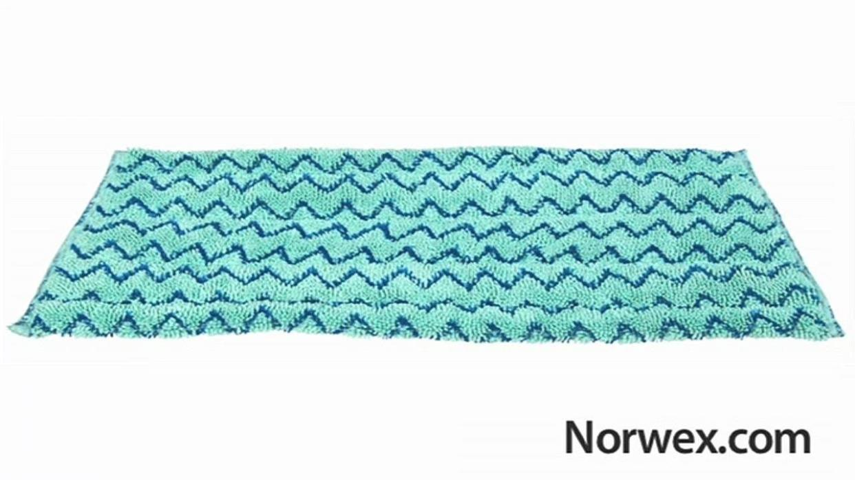 New Norwex Large Tile Mop Pad - Teal
