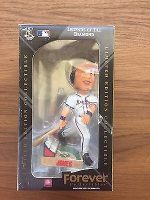 CHIPPER JONES FOREVER BOBBLE HEAD LEGENDS OF THE DIAMOND BRAVES