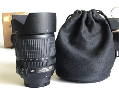 Nikon NIKKOR 18-105mm f/3.5-5.6 DX ED G VR AS SWM IF AF-S Lens