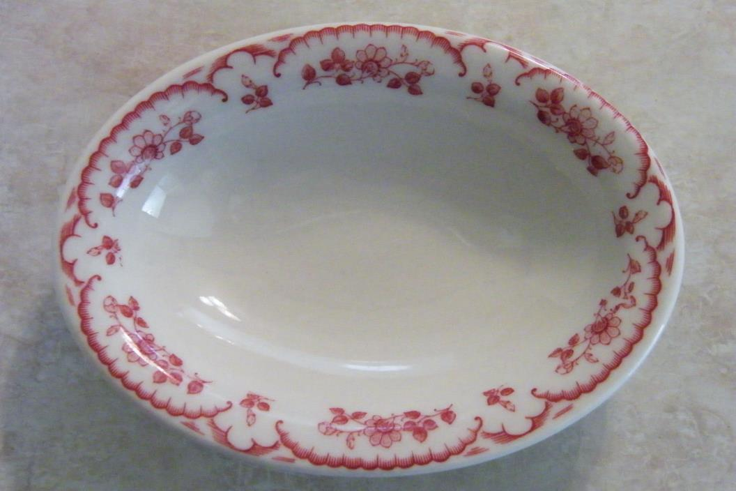 Vintage SHENANGO CHINA RESTAURANT WARE OVAL BOWL small 5-1/2