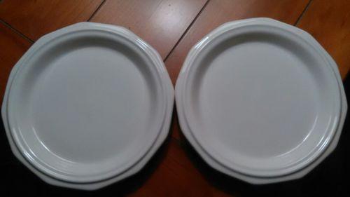 Pfaltzgraff Heritage White  Salad / Dessert  Plate.    Set of 2