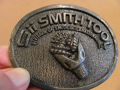 SMITH TOOL OVAL PEWTER Belt Buckle