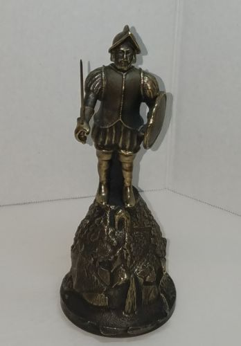 Ballantyne Bronze Figural Ponce de Leon 1990