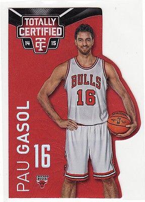 Pau Gasol  Bulls  2014-15 Totally Certified die-cut Red  #023/135  OR  #088/135