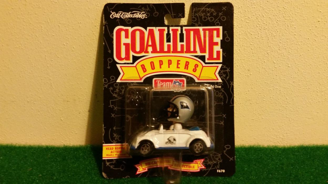 Carolina Panthers Goal Line Boppers Bobble Head Die Cast Vw Beetle