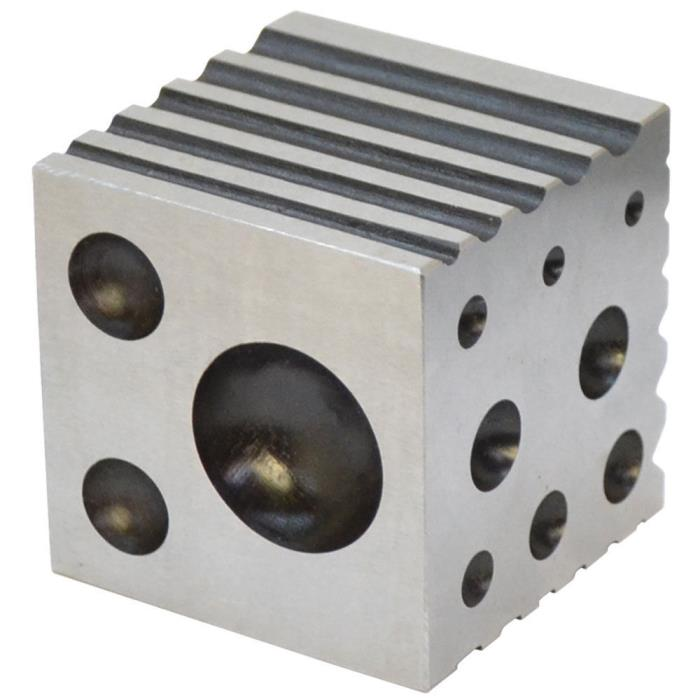 Dapping Block w Round Rectangular/Flat & V grooves Stainless Steel 2