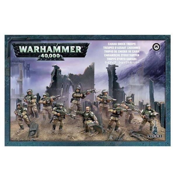 Astra Militarum Cadian Infantry Squad Warhammer 40K