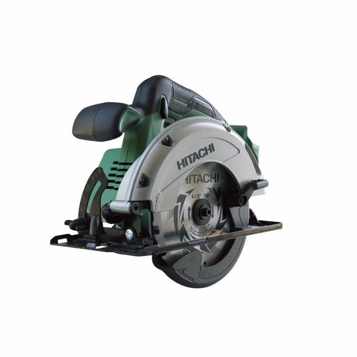 New  Hitachi Cordless Circular Saw Brake Tool 18-Volt 6-1/2-in Lithium C18DGLp4