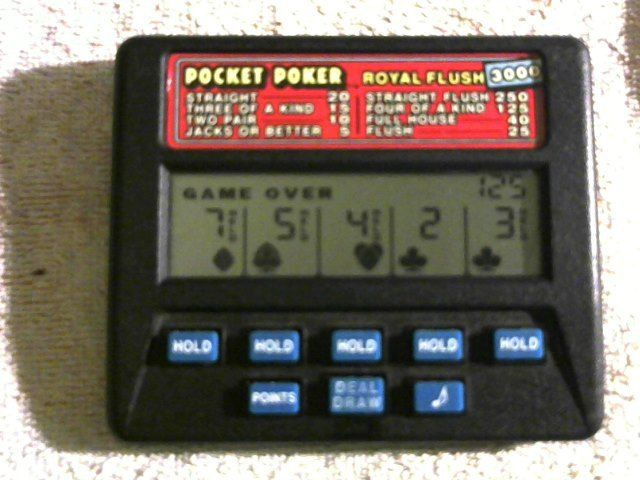 pocket poker -Royal Flush 3000,