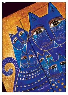 "Paperblanks Journal Laurel Burch ""Mediterranean Cats"" Lined Mini 4"