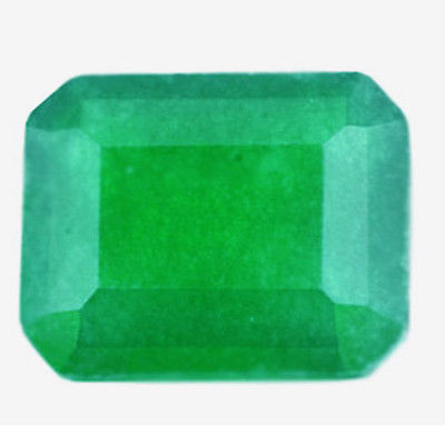 2.48 cts ATTRACTIVE 100% EARTH MINED NATURAL  EMERALD OCTOGEN GEM