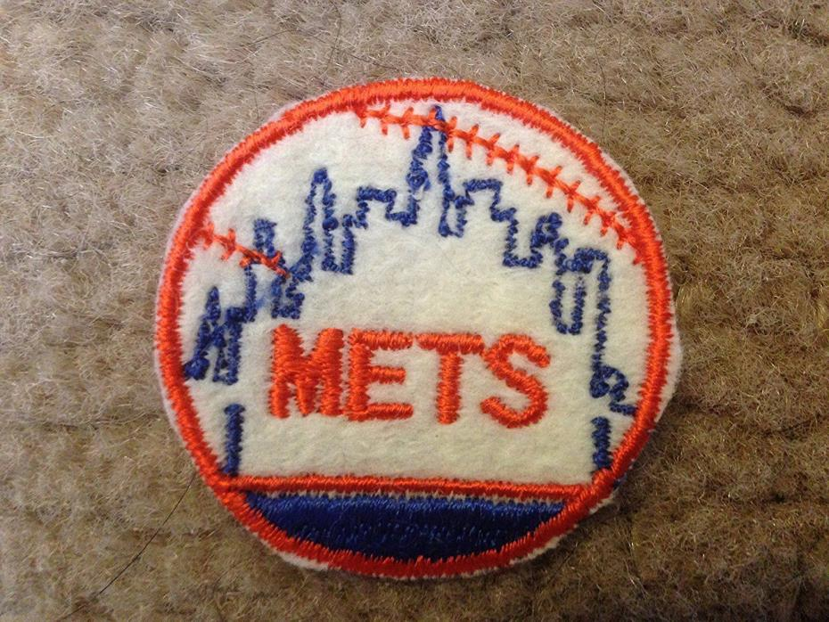 1970 NEW YORK METS IRON ON PATCH EMBROIDERED 2