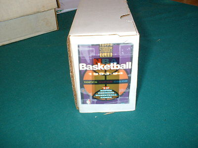 1993-94 STADIUM CLUB BASKETBALL,SER. 1 & 2,  360 CARD SET