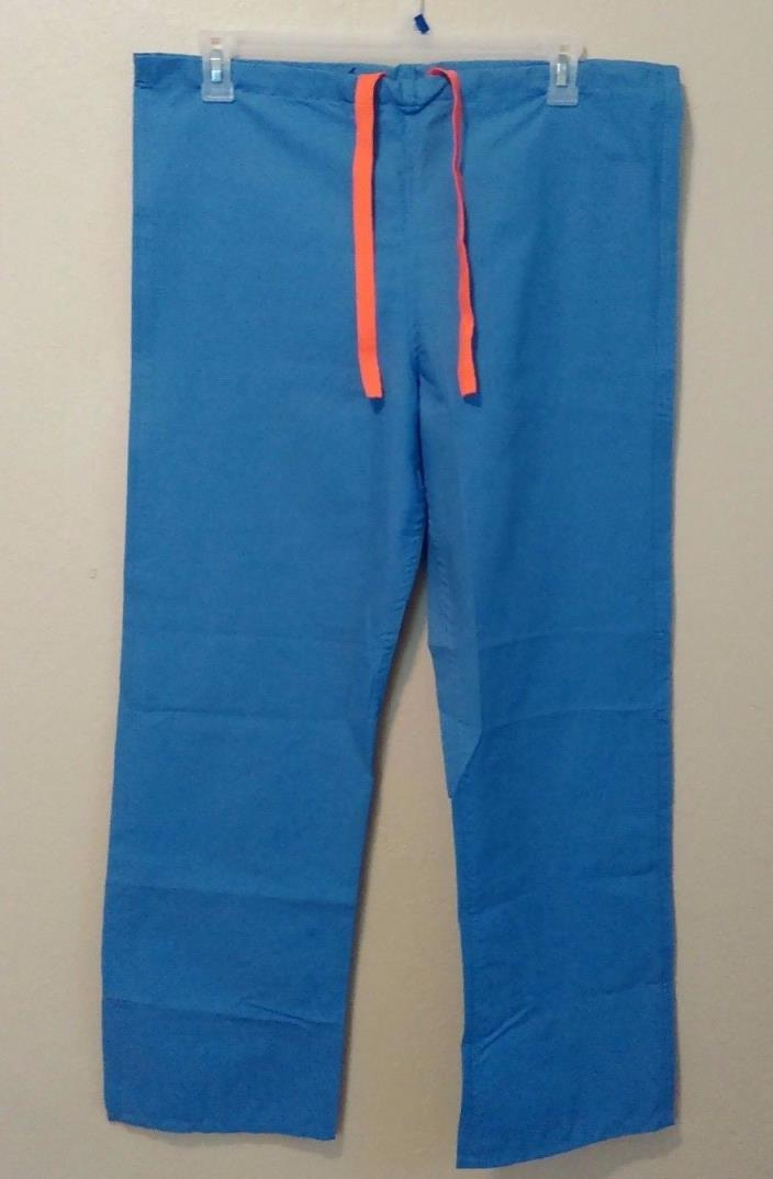 Scrub Pants MEDLINE BRAND Size Small S Blue Drawstring Poly Cotton NWOT - 2