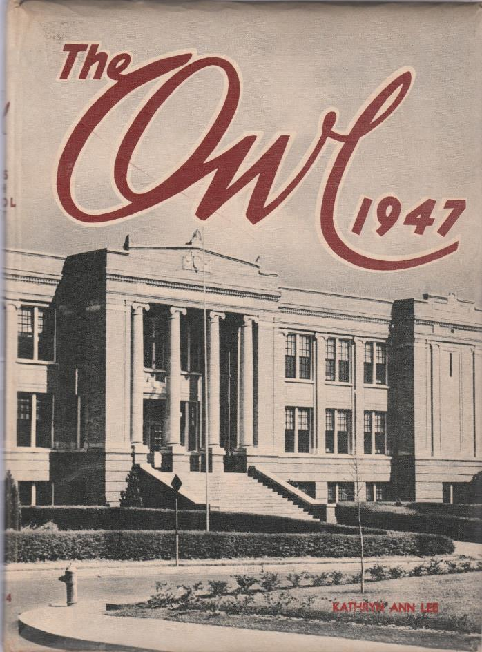 1947 Paris Texas High school Vol 34 The Owl 204 Pages