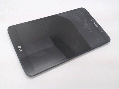 LG G Pad 8.3-Inch 16GB Tablet, LG-VK410, Black, Verizon, Bad ESN, Cracked
