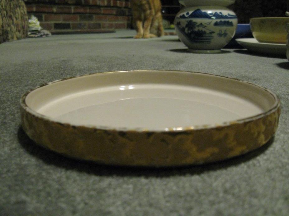 Vintage 22 KT flat dish