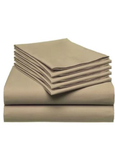 Queen Size Sheet Set Beige