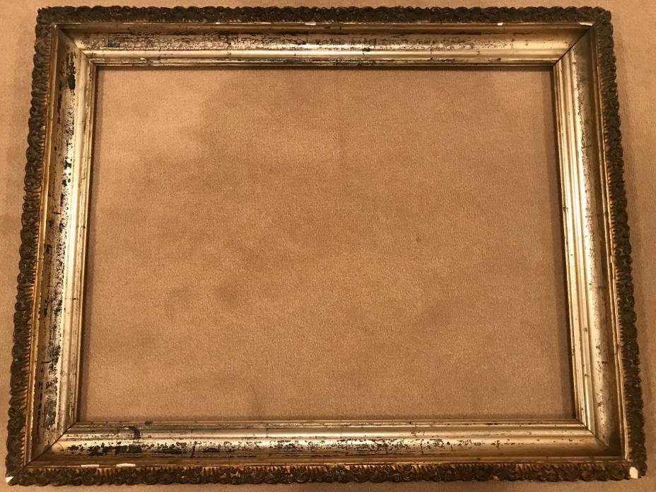 Antique 1890s Gold Gilt Picture Frame 24x18